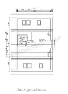 Grundriss DG Schicke Doppelhaushälfte mit schönem großem Garten