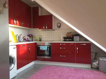 Küchenbereich Schnuckelige Wohnung unter dem Dach!!
