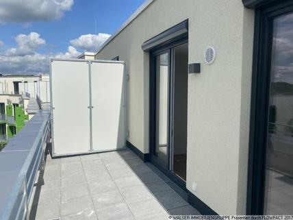 Beispiel Dachterrasse Attraktives *my room active* NEUBAU DG-Apartment exklusiv NUR für Studenten und Auszubildende!