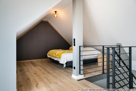 Schlafbereich Dachterrassen-Wohnung mit extravaganter Ausstattung in optimaler Lage