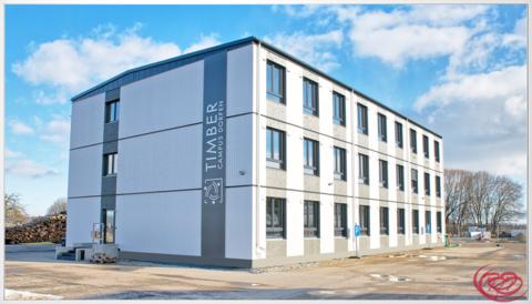 Timber Campus - Akademie 1.0 Timber Campus - Ihr modulares Büro in Holz im Osten von München an der A94 und an der Bahn+++