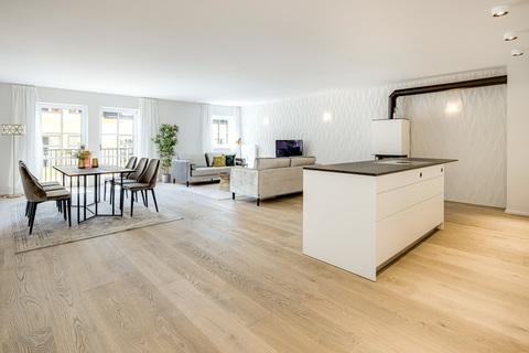 Wohn- Essbereich Exquisite Stadtwohnung mit Loftambiente zum Erstbezug