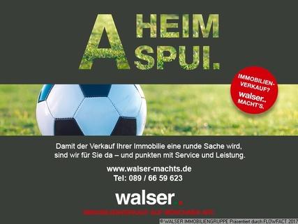 A Heimspui WALSER: Kurzfristig frei: Phantastische 3-Zimmer-Dachgeschoß-Wohnung im beliebten München-Allach!