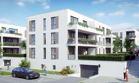 Bild 1 Barrierefreie 2 Zimmer Neubau - Wohnung mit Balkon
