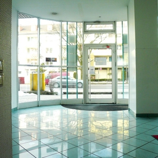 Eingangsbereich STOCK - Günstiges Büros mit bester Anbindung