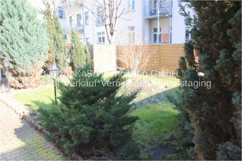Garten AbacO Immobilien*TIPP: Schick möbliertes Cityappartment, EBK,TLB Wanne 1.OG im Stadtzentrum Leipzig