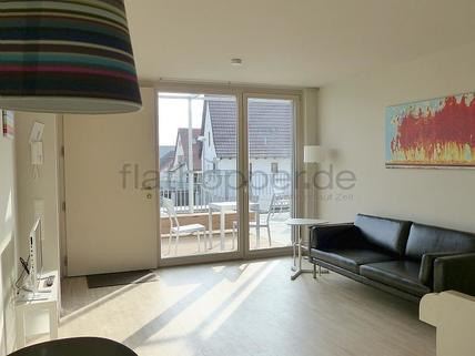 Bild 1 FLATHOPPER.de - Modernes Apartment mit Dachterrasse in Stuttgart - Plieningen