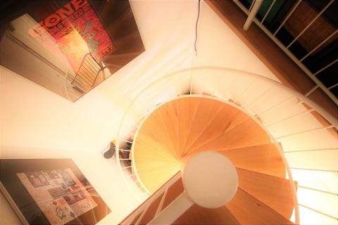 Treppe zum Dachgeschoss Wohnen im Herzen des Weltkulturerbes