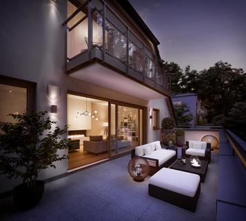 Illu DG Neubau - großzügige Maisonnettewohnung in super Lage