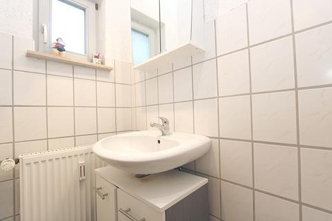 Das Badezimmer Kapitalanleger aufgepasst! Lukratives Wohn- und Geschäftshaus  im Zentrum der Warbelstadt Gnoien!