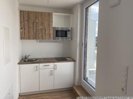 Beispiel Küche Traumhaft: NEUBAU-DACHGESCHOSS-Apartment *NUR für Studenten und Auszubildende*