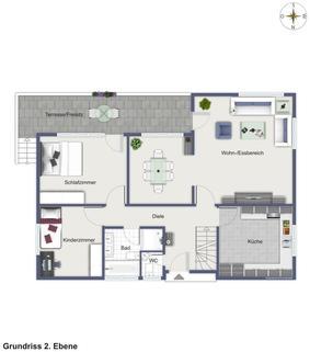 WG50002 2. Ebene Stilvolles Anwesen mit unverbaubarem Fernblick...