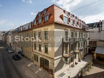 Fassade STOCK - Exklusives Ladenbüro im begehrten Glockenbachviertel