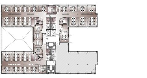 Grundriss Regelgeschoss Attraktive Büros in sehr gutem Umfeld von Ismaning