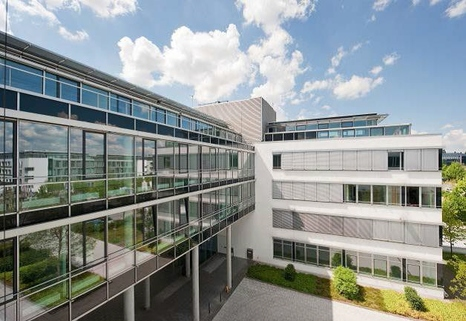 Aussenansicht_Innenhof STOCK - PROVISIONSFREI - Sensationelle Büroflächen in Unterföhring
