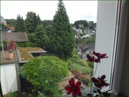 Blick aus dem Schlafzimmerfenster TOP-Apartment mit allem was dazu gehört!