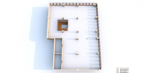 Sonnenstudio 1. OG 3D Ansicht Gewerbeimmobilie (Solarium & Geburtshaus) in citynaher Lage in der Hansestadt Rostock zu kaufen!
