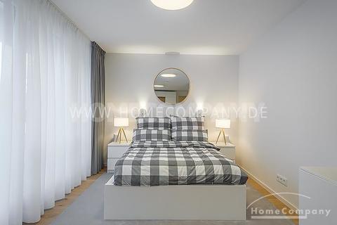 Schlafen Erstbezug! Modern und exklusiv möbliertes 1-Zimmer-Apartment mit Balkon in Harlaching