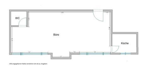 Grundriss EICHLER IMMOBILIEN: Ruhiges Büro im Erdgeschoss