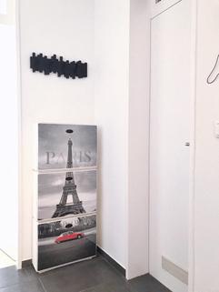 Entree Voll möblierte Zweizimmerwohnung - Erstbezug nach Komplettsanierung