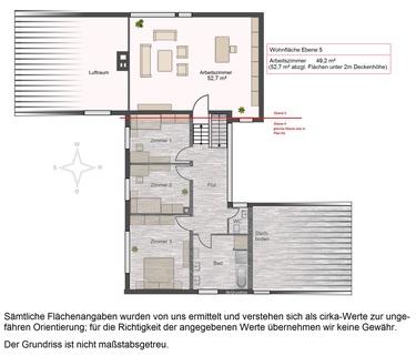 Grundriss OG Großzügiges Einfamilienhaus auf ca. 2.200 m² Grund in Baldham-Vaterstetten