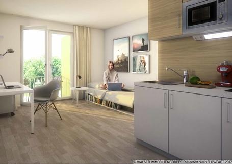 Beispielapartment Schickes Dachterrassen-Apartment! Für Studenten/Azubis *ERSTBEZUG*