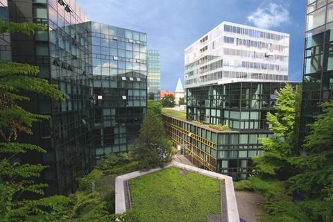 Innenhof STOCK - Futuristische Bürofläche in Maxvorstadt