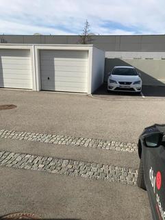 Garage mit Stellplätzen Doppelhaushälfte Gunskirchen Sofort beziehbar Doppelhaushälfte neuwertig mit Pool und Garage