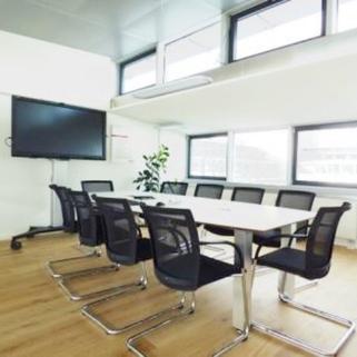 Innen3 So arbeitet man heute ... Chices Büro mit Dachterrasse