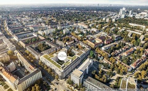 Lageplan ERSTBEZUG IN BOGENHAUSEN: Ruhige, sonnige Innenhoflage, 5. OG., S/W-Balkon, geplanter Bezug 12/2018