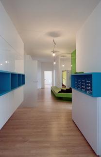 Eingangsbereich Glockenbachviertel: Stylische Bürofläche über zwei Etagen zu vermieten