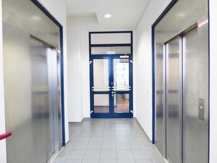 Eingangsbereich Flexible Bürofläche im Gewerbegebiet Am Moosfeld