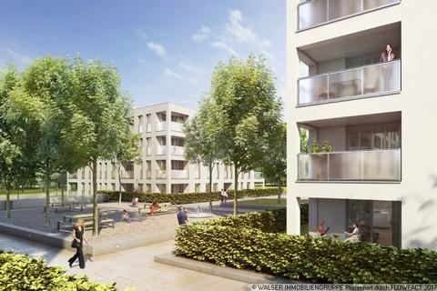 Ansicht Hof - Esplanade Traumhafte 2-Zimmer-Wohnung mit Westausrichtung im 5. OG – Erleben Sie Großzügigkeit!