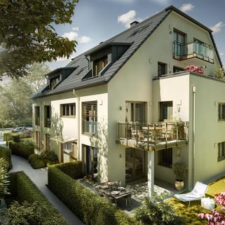 Illu Einzelhaus Neubau - großzügige Maisonnettewohnung in super Lage