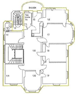 1OG STOCK - PROVISIONSFREI - Herrschaftliche Altbauvilla in Bestlage
