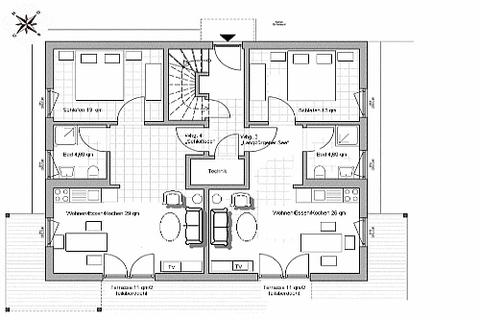 Bild 8 FLATHOPPER.de - Mitten im Grünen: 2-Zimmer-Wohnung mit Terrase, Garten und Parkplatz in Bad Endorf