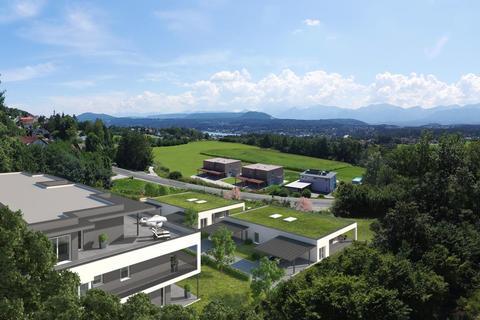 Ansicht Velden HILLS! Neubau-Bungalow mit großem Eigengarten!