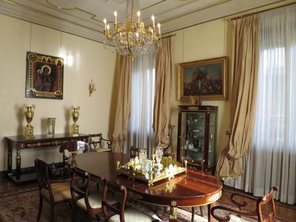 Speisezimmer Bestlage ROM: exklusive Altbauwohnung im herrschaftlichen Stil Nähe Villa Borghese zu verkaufen