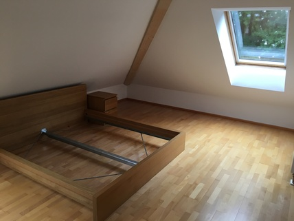 Schlafzimmer München Harlaching - Traumwohnung mit Dachterrasse und Garten