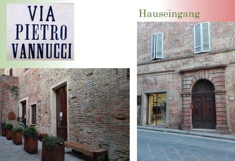 Via P. Vannucci FRÜHLINGSPREIS: SLOW Città - Umbrien - Wohnen im mittelalterlichem Haus