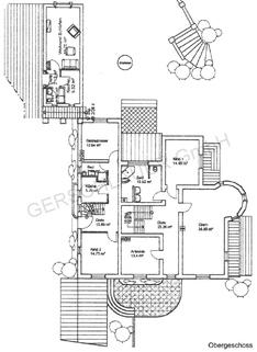 Grundriss Obergeschoss Wohntraum historisches Schlössel am Ammersee, kernsaniert, auf 5.000 qm uneinsehbarem Grund