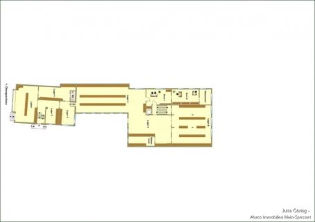 1. OG Wohn- und Geschäftshaus mit Laden - und Lagerflächen auf 2 Etagen mit zusätzlichen Garagen!