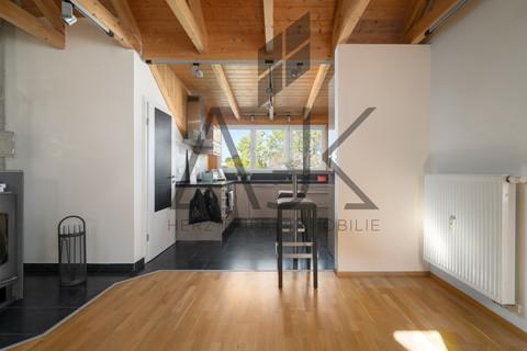 Kochärea großzügiges MansardenUNIKAT mit 2 Schlafzimmern auf ca. 92 qm im grünen Untermenzing
