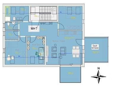 Grundriss DG WE 7 Wiesenter Höfe 2.0 - WE 7