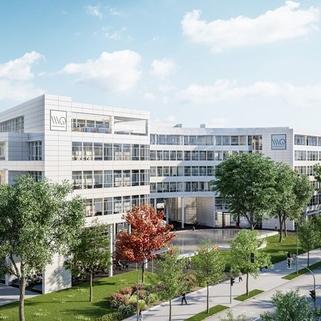 Außen1 Dynamisch im Münchner Osten ... Bürocampus hell, modern und neu revitalisiert