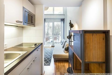 Küchenzeile WALSER: Einzigartige Gelegenheit - Möbliertes Galerie-Apartment für Studenten - zum Sofort-Bezug!