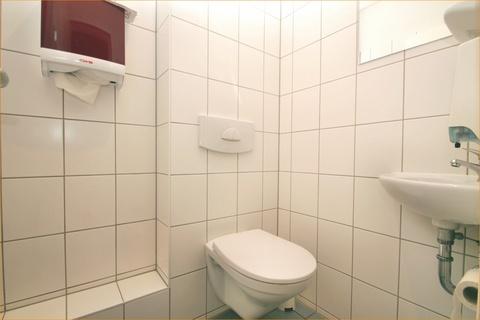 Der Sanitärbereich Renditeimmobilie (Fitness-Studio) in citynaher Lage, in der Hansestadt Rostock zu erwerben!