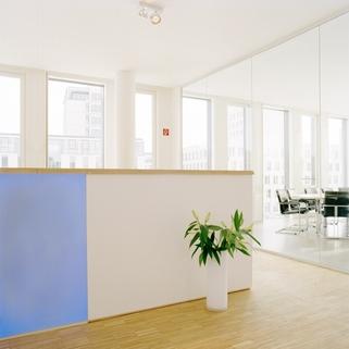 Empfang STOCK - Büros in der Parkstadt Schwabing