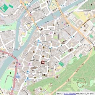 Makro-Ansicht Beste Lauflage zur Altstadt !, Laden-/Büroeinheit  in der Schirmgasse, ca. 72 qm, provisionsfrei