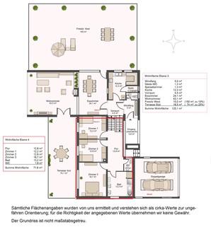 Grundriss EG Großzügiges Einfamilienhaus auf ca. 2.200 m² Grund in Baldham-Vaterstetten